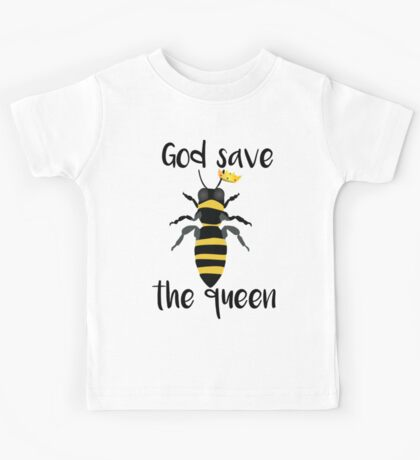 God Save the Queen Bees Kids Tee