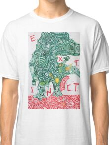 EXTINCT - LARGE FORMAT - VERTICAL Classic T-Shirt