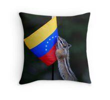 Jasper Recruits a New Volunteer for His Work in Venezuela Throw Pillow