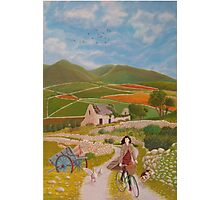 Rosie McCann Mourne Mountains scene Photographic Print