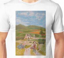 Rosie McCann Mourne Mountains scene Unisex T-Shirt