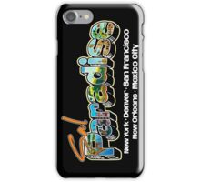 Postcard from On The Road! iPhone Case/Skin