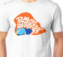 It All Started With A Bald Joke Unisex T-Shirt