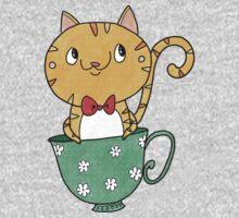 Teacup Kitty One Piece - Short Sleeve