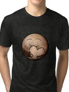Pluto Heart Tri-blend T-Shirt