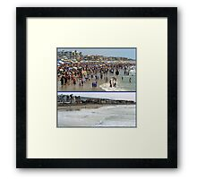 A Difference Between Seasons Framed Print