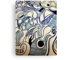 Abstract Lines Canvas Print