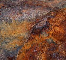 Iron ~ Metal in Abstract by Alixzandra