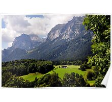 Reiter Alm (or Alp). Germany. Poster