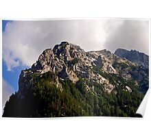 Mountain Hochkalter 02. Germany. Poster