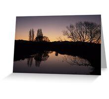 Naked at dusk  Greeting Card