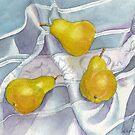 Pear Trio by Ann Nightingale