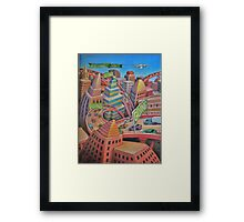 Gone Framed Print