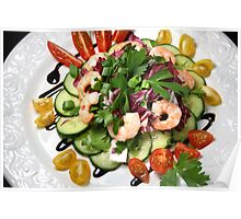 Refreshing 3Minutes Salad Poster