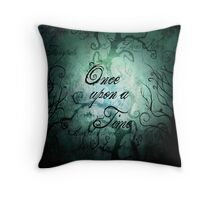 Once Upon A Time ~ Fairytale Forest Throw Pillow