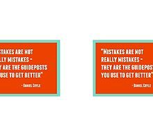 Mistakes are not really mistakes by IdeasForArtists