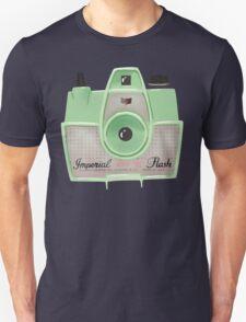 Vintage Camera - Mint Green Unisex T-Shirt