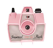 Vintage Camera - Pink by pigandpumpkin