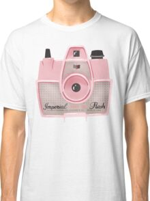 Vintage Camera - Pink Classic T-Shirt
