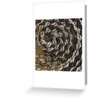 Spiral fractal (1) Greeting Card