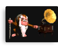 Donkey Kong Country - Cranky's Phonograph Canvas Print