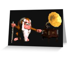 Donkey Kong Country - Cranky's Phonograph Greeting Card