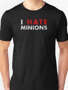 I Hate Minions - White Dirty T-Shirt