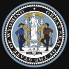 Wyoming State Seal by GreatSeal