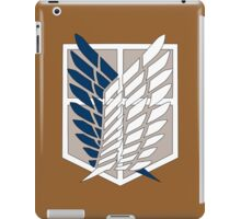 Attack on Titan Survey Corps iPad Case/Skin