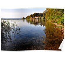 Lake Kochelsee Germany Poster
