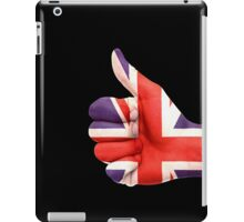 UK Flag hand iPad Case/Skin