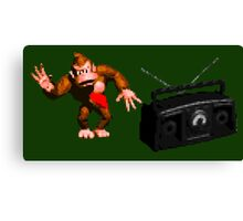 Donkey Kong Country - Rockin' Out Canvas Print