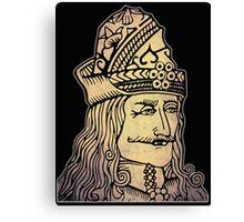 Vlad The Impaler (Dracula) Canvas Print