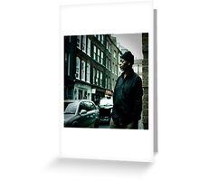 Soho,London Greeting Card