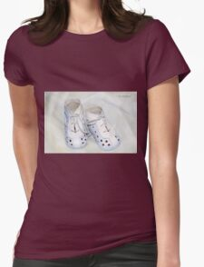 My Boys Baby Shoes Womens Fitted T-Shirt