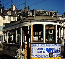 Super Bock Tram, Lisbon by MikeyLee