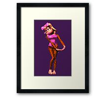 Donkey Kong Country - Candy Kong Framed Print