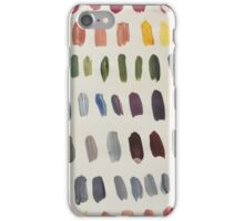 Paint Swatches  iPhone Case/Skin
