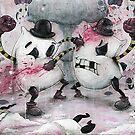 Pillow Fight!!! by Chris Brett