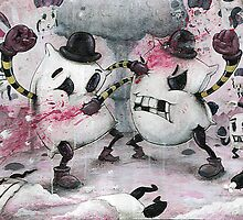 Pillow Fight!!! by Chris Brett