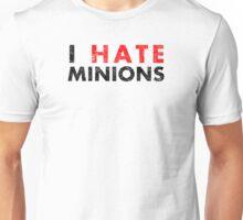 I Hate Minions - Black Dirty Unisex T-Shirt