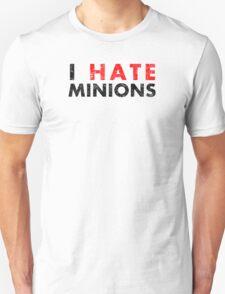 I Hate Minions - Black Dirty T-Shirt