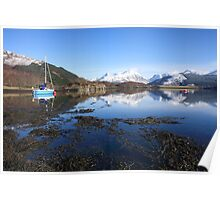 Loch Leven and the Pap of Glencoe. Poster