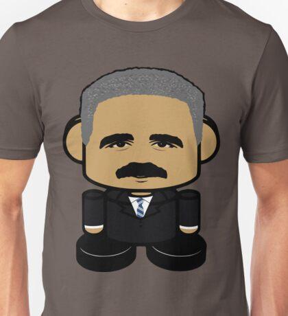 Eric Holder Politico'bot Toy Robot 1.0 Unisex T-Shirt