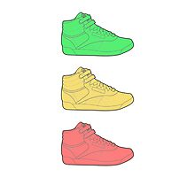 Freestyle Sneakers Photographic Print