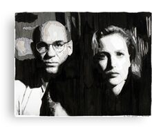 Scully and Skinner Canvas Print