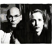 Scully and Skinner Photographic Print