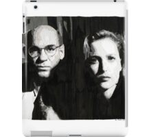 Scully and Skinner iPad Case/Skin