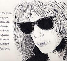 Patti Smith by anniemgo