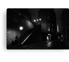 Paris - Whodunit. Canvas Print